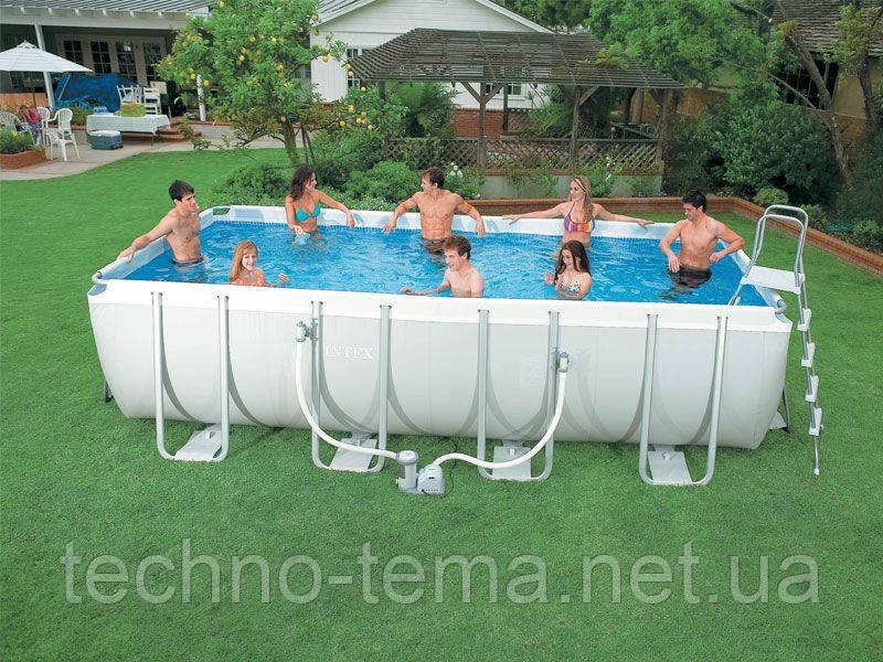 Каркасный бассейн Intex 400х200х100 см (28350)