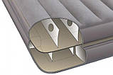 Надувная велюр-кровать Intex 191х99х46 см (67743), фото 3