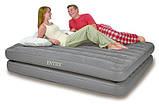 Надувная велюр-кровать Intex 203х152х46 см  (67744), фото 2
