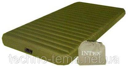 Надувной матрас Intex Туристический с электронасосом 191х99х20 см (68727)