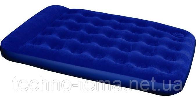 Надувной матрас Bestway 67225 + встроенный ножной насос (191х137х22 см)