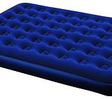 Надувной матрас Bestway 67225 + встроенный ножной насос (191х137х22 см), фото 2