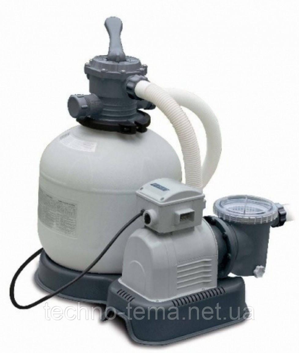 Система соленой воды + песочный фильтр-насос Intex 28678