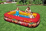 Бассейн детский надувной Intex Тачки 262х175х56 см (57478), фото 3