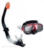 Набор для плавания Intex маска+трубка (55949), фото 4