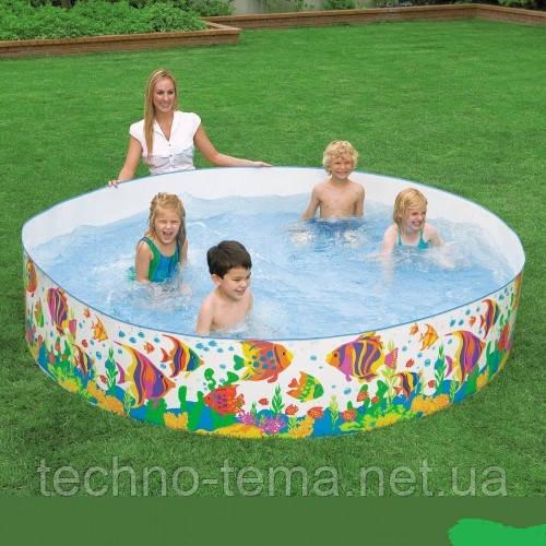 Детский каркасный бассейн Intex  183х38 см (56452)
