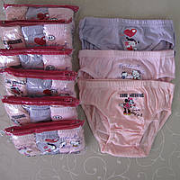 Трусики  для девочек  РОСТОВКА от 2 до 12 лет.  Детские трусики, трусы для детей, трусы для девочек, фото 1