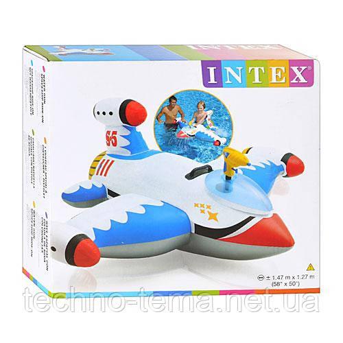 Надувной плот Intex 147х127 см (57539)