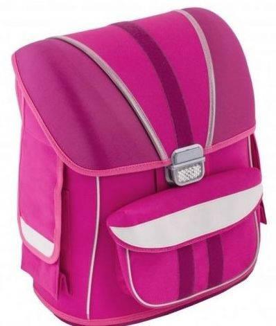 """Выразительный ранец в школу девочке 6+ CFS суперкаркасный 14,5"""", """"Birds"""" 720 CF85436 розовый"""