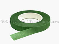Лента для цветов — Тёмно-зелёная - 12 мм - 27 м