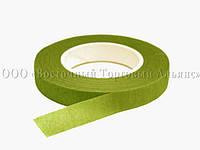 Лента для цветов — Светло-зелёная - 12 мм - 27 м