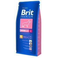 Сухой корм Brit Premium Junior L  для собак 15 кг.
