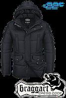 Куртка зимняя мужская Braggart Dress Code - 4260B черная