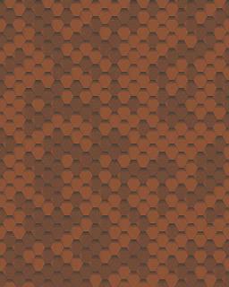 Битумная черепица Акваизол Мозаика 3 кв.м (осенний клен)