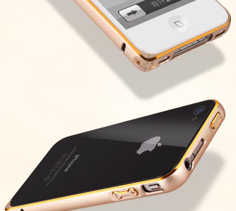 Металлический бампер для iPhone 4 4S