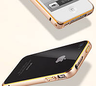 Металлический бампер для iPhone 4 4S, фото 1