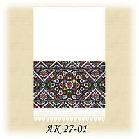 Заготовка традиционного рушника для вышивания АК 27-01