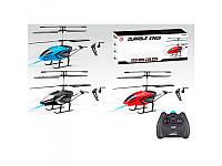 Р/У Вертолет R160 (18шт) аккум, гироскоп, 32,5см, свет, 2 канала, 3 цвета, в кор-ке, 49,5-20,5-7,5см