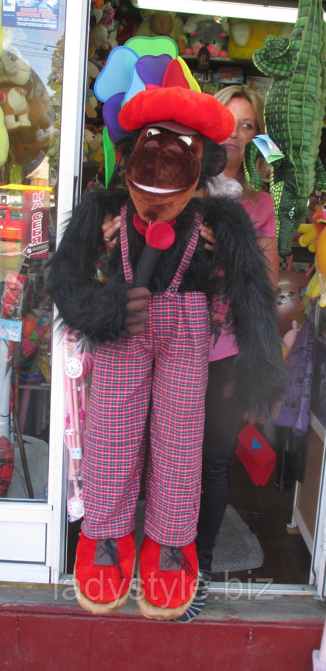купить плюшевую игрушку сувенир обезьяна подарок девушке