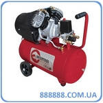 Компрессор 50л 8атм 354л/мин 220В PT-0004 Intertool 2.23кВт 3HP 2 цилиндра