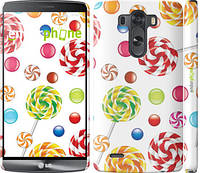 "Чехол на LG G3 dual D856 Карамель ""2283m-56"""