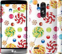 "Чехол на LG G4 Stylus H540 Карамель ""2283u-242"""