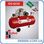 Компрессор 500л 15 атм 1100 л/мин 380В GG 6230 Skyrack -  GGA (Италия)