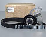Комплект натяжитель + ролик + ремень генератора на Renault Kangoo 2001->  1.5dCi  — Renault -  7701476473, фото 4