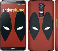 """Чехол на LG G2 Deadpool v2 """"3530u-37"""""""