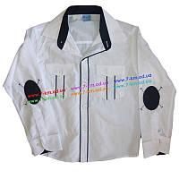 Рубашка для мальчиков Rom1100 коттон 4 шт (7-10 лет)