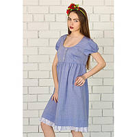 Платье отрезное с кружевом купить