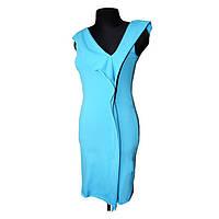 Платье трикотажное бирюза, размер М купить