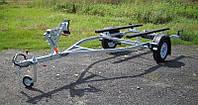 Прицеп - лафет для перевозки надувной пвх лодки до 3,6 м (эконом)