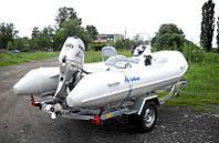 Прицеп для перевозки резиновых лодок класса RIB до 4,5 м