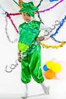 Карнавальный костюм Огурец атлас