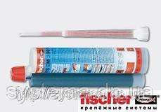 Химический анкер, эпоксид, для влажных отверстий и арматуры - Fischer FIS EM 390 S, 390 мл, фото 2