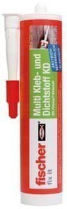 Fischer KD - Клей-герметик на основе MS-полимеров, однокомпонентный, не содержащий растворителя, бел., 290 мл