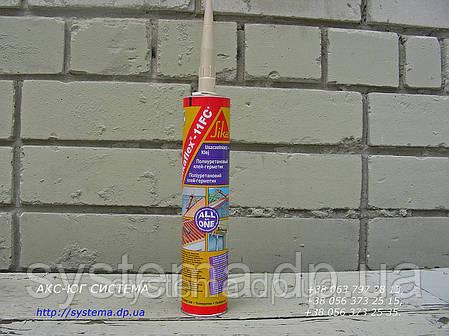 Клей-герметик, белый, 300 мл - Sikaflex®-11 FC+ однокомпонентный, пластичный, фото 2