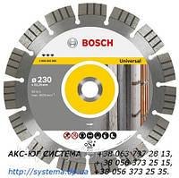 BOSCH Best for Universal and Metal - Алмазные отрезные круги 230х22,23х2.4 мм
