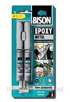 BISON EPOXY METAL - Клей эпоксидный для метала 24 ml