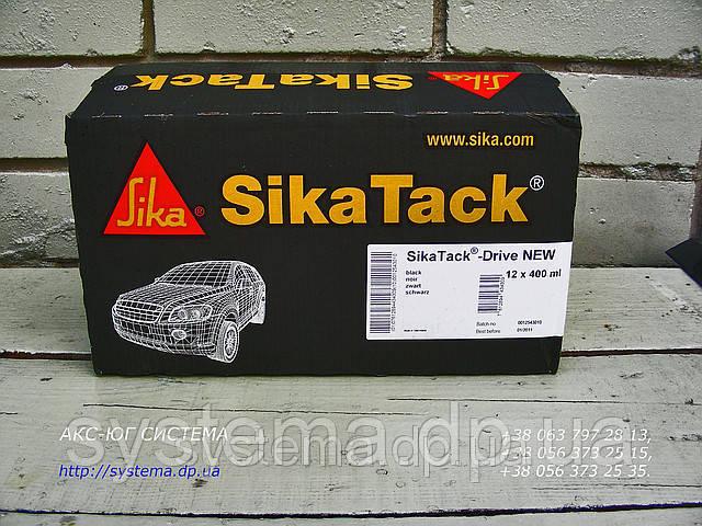 SikaTack®-Drive (New Formulation) - полиуретановый клей для замены автомобильных стекол черный, 400 мл