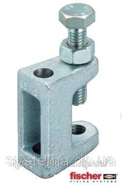 Fischer TKL M10 - Струбцина для монтажа системы трубопроводов, вентиляционных каналов на стальных балках