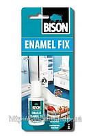 BISON ENAMEL FIX 20 ml - Состав для ремонта белой эмали