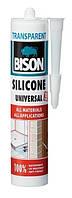 BISON SILICONE UNIVERSAL 280 ml - универсальный силиконовый герметик (прозрачный)