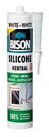 BISON SILICONE NEUTRAL - нейтральный силиконовый герметик (белый)