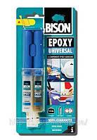 BISON EPOXY UNIVERSAL - Клей универсальный эпоксидный 24 ml