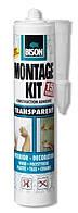 BISON MONTAGEKIT TRANSPARENT CRT 310G - Клей для конструкций прозрачный