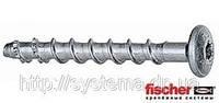 Fischer FBS 6/25P - Шуруп по бетону с плоской головкой, оцинкованная сталь