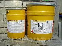 Sika® Icosit® Elastomastic TF - Двукомпонентное вязко-эластичное покрытие для бетона и стали, серый, 20 кг