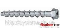 Fischer FBS-US - Шуруп по бетону, шестигранная головка с пресс-шайбой, оцинкованная сталь